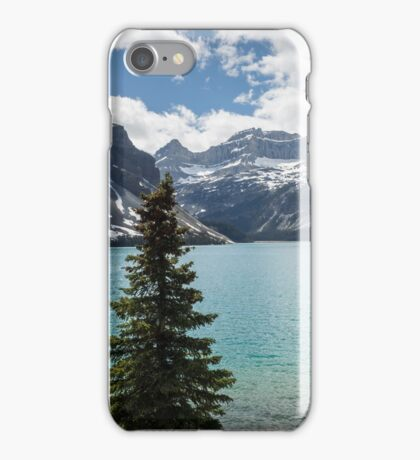 Lake Louise late afternoon iPhone Case/Skin