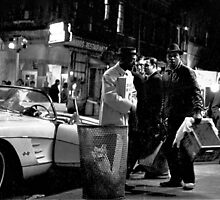 MacDougal Street 1964 by Rick Gold