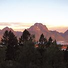 A Grand Teton Morning by Graeme Wallace