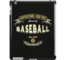 Vintage Baseball iPad Case/Skin