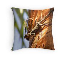 Salamanda Throw Pillow