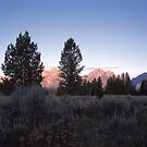 Grand Teton Mountains by Graeme Wallace