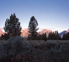 Grand Teton Mountains by Graeme Wallace