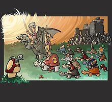 Epic battle! by ArryDesign
