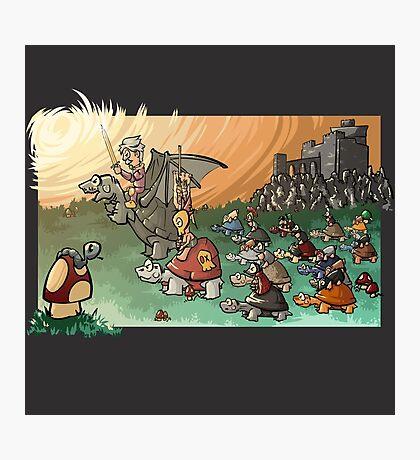 Epic battle! Photographic Print