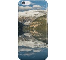 Lake Louise perfect reflection early in the morning iPhone Case/Skin