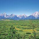 Grand Teton Range by Graeme Wallace