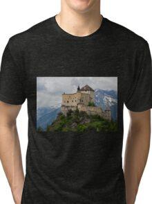 Tarasp Castle, Graubünden, Switzerland Tri-blend T-Shirt