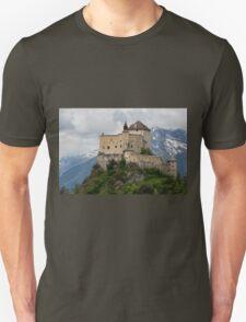Tarasp Castle, Graubünden, Switzerland T-Shirt
