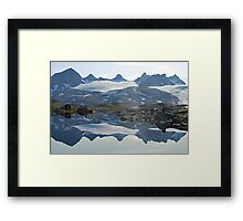 Sognefjell (Norway) reflected Framed Print