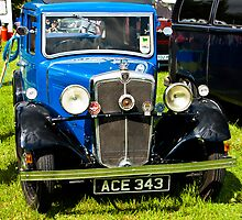 1934 Morris 10/4 Vintage Car by Trevor Kersley