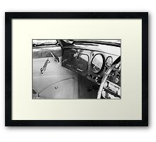 Levers Framed Print