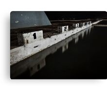 Take a Number Canvas Print