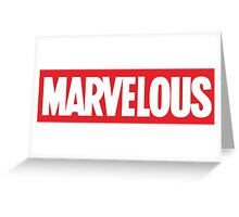 Marvelous Greeting Card