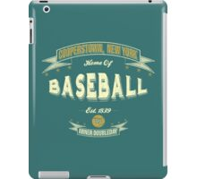 Vintage Baseball iPad Case/Skin