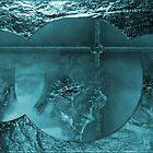 Wall Art Design- Light blue by haya1812