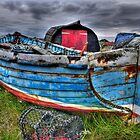 Worn Old Boat by Ryan Davison Crisp
