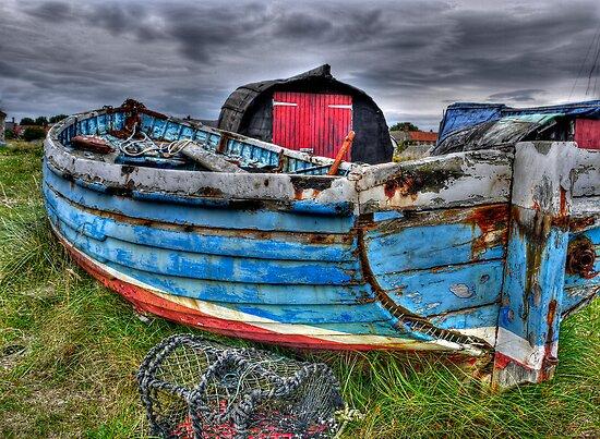 Worn Old Boat by Ryan Davison Crisp