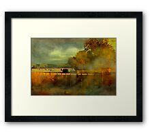 """""""Height of the Haymaking ..."""" Framed Print"""