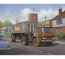 Bedford KM tipper. Photographic Print