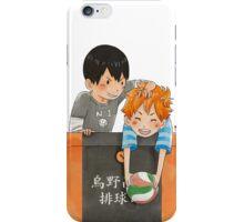 Pocket Kagehina iPhone Case/Skin