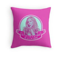 Amy Schumer Quote Design Throw Pillow