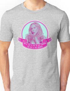 Amy Schumer Quote Design Unisex T-Shirt