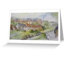 Sandsend Cottages, nr Whitby Greeting Card