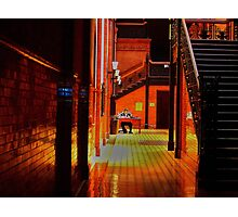 Security Guard Photographic Print
