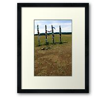 By The Wayside Framed Print