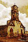 Disused church, Trinidad, Cuba by David Carton