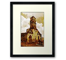 Disused church, Trinidad, Cuba Framed Print
