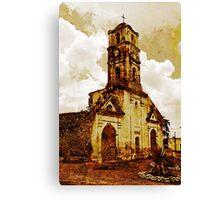Disused church, Trinidad, Cuba Canvas Print