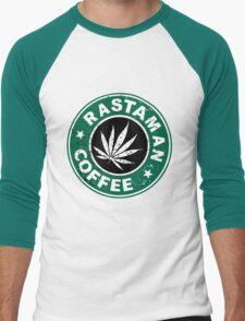 RASTAMAN COFFEE Men's Baseball ¾ T-Shirt