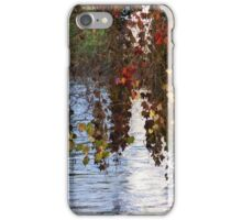 water reflection on river iPhone Case/Skin