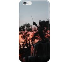 Sunset at toontown iPhone Case/Skin