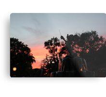 Sunset at toontown Metal Print
