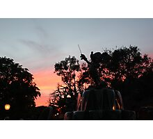 Sunset at toontown Photographic Print