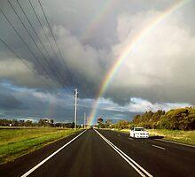 Rainbow Vortex by Victoria McGuire