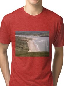 Lagg Beach Malin Co Donegal Ireland Tri-blend T-Shirt