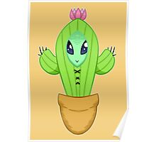 Alien Cactus Lord Poster