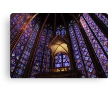 Colors of Sainte Chapelle Canvas Print