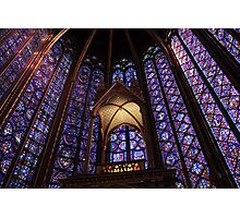 Colors of Sainte Chapelle Photographic Print