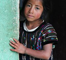 Sad Mayan Girl by rwilks