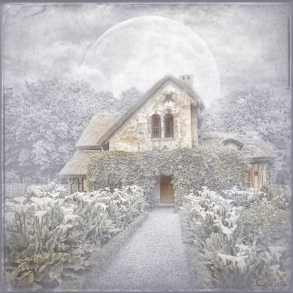 Moon Cottage by dawne polis
