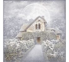 Moon Cottage Photographic Print
