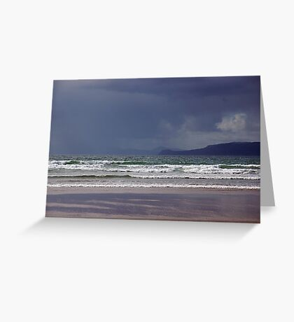 Storm over Dingle Bay, Kerry, Ireland Greeting Card