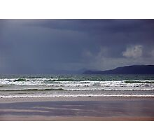 Storm over Dingle Bay, Kerry, Ireland Photographic Print