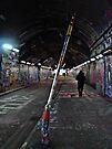 Graffiti Tunnel by Mojca Savicki