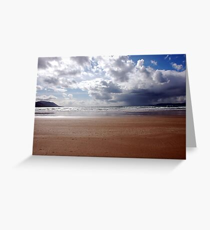 Storm over Dingle Bay, Kerry, Ireland 3 Greeting Card